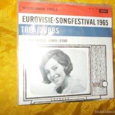 Disques de vinyle: TREA DOBBS. PLOEM PLOEM JENKA / STAD. FESTIVAL EUROVISION 1965. DECCA EDICION HOLANDESA. IMPECABL. Lote 57977345