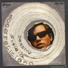 Discos de vinilo: JOSÉ FELICIANO (DESTINY / SUSIE-Q · RCA VICTOR, 1970). Lote 57979886
