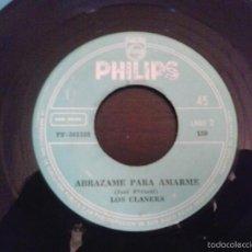 Discos de vinilo: LOS CLANERS SIN TENER QUE MENTIR SINGLE PHILIPS 150 RARO DISCO ROCK BEAT PSYCH DE VENEZUELA. Lote 57982706