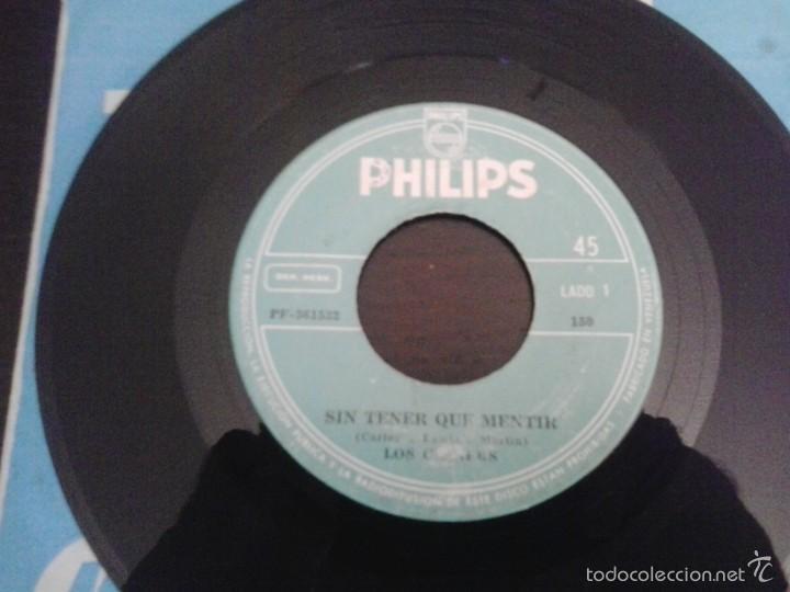 Discos de vinilo: Los Claners Sin tener que mentir Single Philips 150 Raro disco Rock Beat Psych de Venezuela - Foto 2 - 57982706