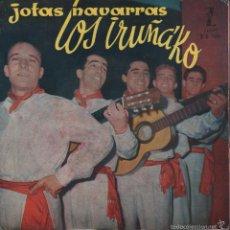 Discos de vinilo: LOS IRUÑAKO - JOTAS NAVARRAS / EP ZAFIRO DE 1959 RF-888 . Lote 57985637