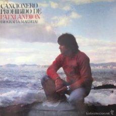 Discos de vinilo: VINILO LP PATXI ANDION ''CANCIONERO PROHIBIDO'' 1978. Lote 57992770