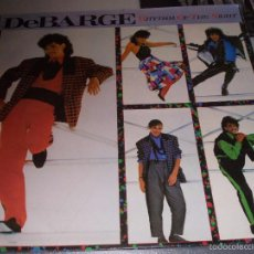 Discos de vinilo: DEBARGE, RHYTHM OF THE NIGHT. Lote 57993384