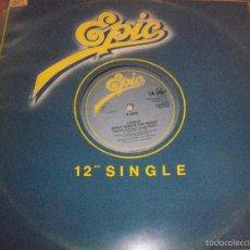 Discos de vinilo: MAXI-SINGLE DE LEGACY, DON'T WASTE THE NIGHT. EDICION EPIC DE 1985. . Lote 57994729