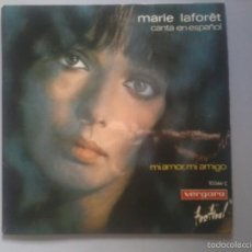 Discos de vinilo: MARIE LAFORET. SINGLE: MI AMOR, MI AMIGO.. Lote 57999536
