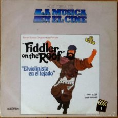 Discos de vinilo: JOHN WILLIAMS : BSO FIDDLER ON THE ROOF [ESP 1971]. Lote 56207207
