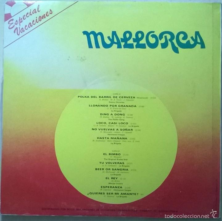 Discos de vinilo: Especial Vacaciones Mallorca, Olympo-L-326 - Foto 2 - 58005312