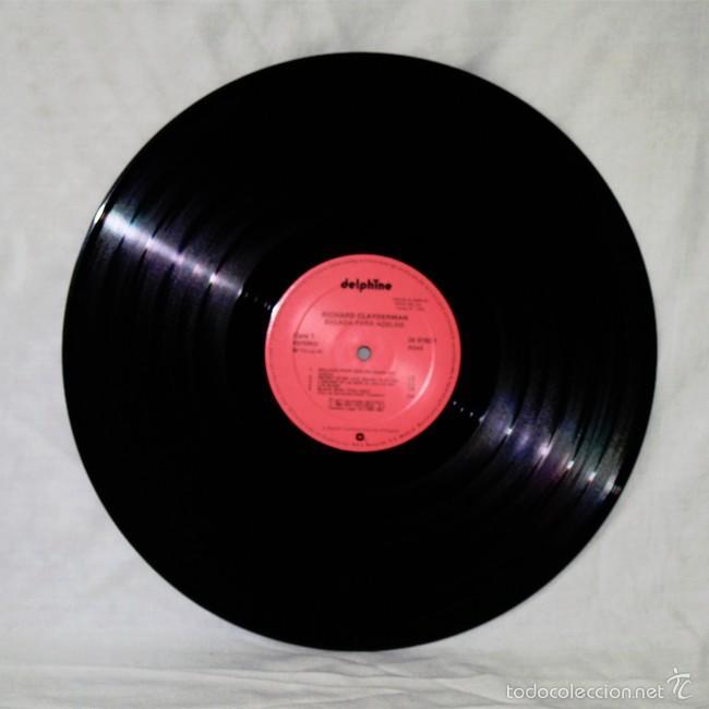 Discos de vinilo: Richard Clayderman 'Ballade Pour Adeline' - 1977 - Delphine - Disco de Vinilo LP - Foto 3 - 58007924