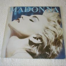 Discos de vinilo: MADONNA. TRUE BLUE - LP. WEA 1986 (CON ENCARTE). Lote 58008258