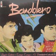 Discos de vinil: BANDOLERO - PARIS LATINO - VIRGIN - F-600723 SPAIN SEGUNDA VERSION DE ETIQUETADO. Lote 58009951