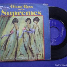 Discos de vinilo: DIANA ROSS AND THE SUPREMES SINGLE REFLEJOS , TERCER TIEMPO TAMLA MOTOWN 1967 SPAIN. Lote 58019622