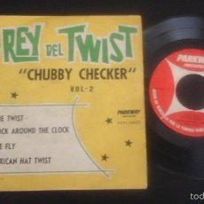 Discos de vinilo: CHUBBY CHECKER - EL REY DEL TWIST EP PEP 19.002 RARA EDICIÓN DE VENEZUELA. Lote 58020295