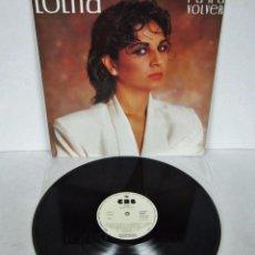 Discos de vinilo: LOLITA - PARA VOLVER - CBS 1985 SPAIN - PROMO. Lote 58029194