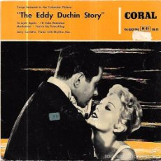 Discos de vinilo: SINGLE. THE EDDY DUCHIN STORY. JERRY CARRETTA, PIANO WITH RHYTHM ACC. CORAL. Lote 58032265