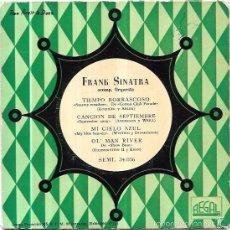 Discos de vinilo: SINGLE. FRANK SINATRA. ACOMP. ORQUESTA.. Lote 58047513