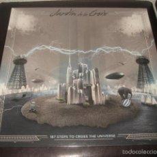 Discos de vinilo: LP JARDIN DE LA CROIX 187 STEPS TO CROSS THE UNIVERSE GRUPO CULTO LIMITED EDITION 500. Lote 58065319