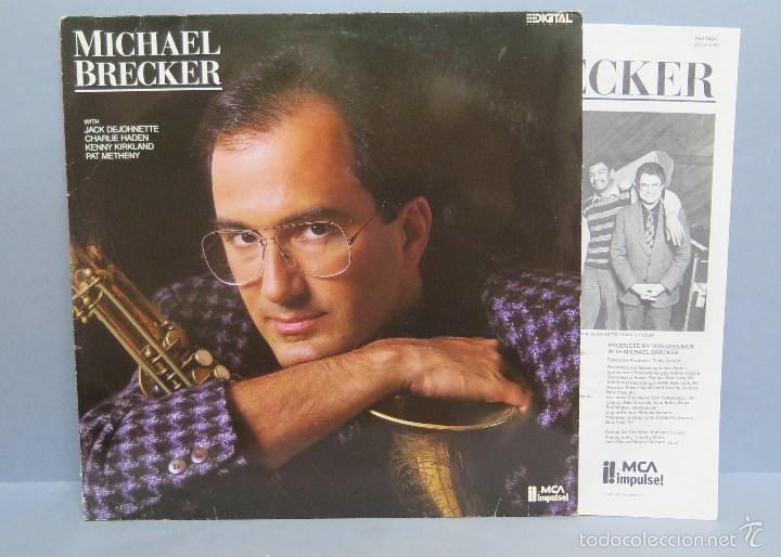 LP. MICHAEL BRECKER (Música - Discos - LP Vinilo - Jazz, Jazz-Rock, Blues y R&B)