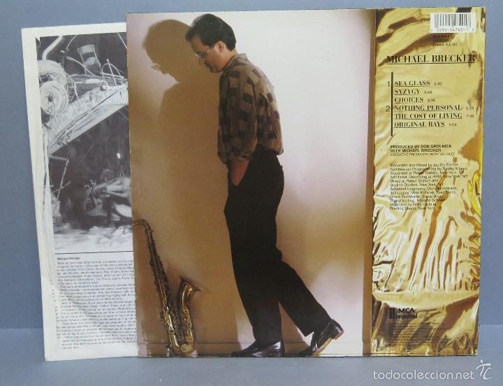Discos de vinilo: LP. MICHAEL BRECKER - Foto 3 - 58065981