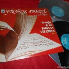 Discos de vinilo: FRANCK POURCEL LO MEJOR DE LAS PAGINAS CELEBRES VOL.1 2LP 1979 EMI ODEON EDICION ESPAÑOLA SPAIN. Lote 58070125