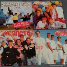 Discos de vinilo: MAGNETO LOTE DE 4 SINGLE. Lote 149639558