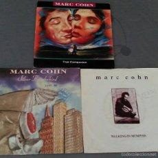 Discos de vinilo: LOTE DE 3 SINGLES DE MARC COHN . Lote 58073448