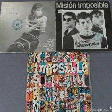 Discos de vinilo: LOTE DE 3 SINGLES DE MISION IMPOSIBLE . Lote 58073613