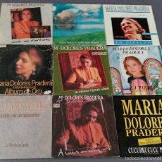 Discos de vinilo: LOTE DE 9 SINGLES DE MARIA DOLORES PRADERA . Lote 58073635