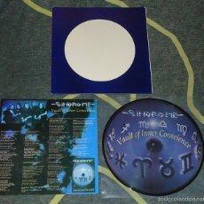 Discos de vinilo: SINDROME - VAULT OF INNER CONSCIENCE - 12'' PICTURE DISC [BOOTLEG · LIM. 250] HEAVY METAL THRASH. Lote 58075538