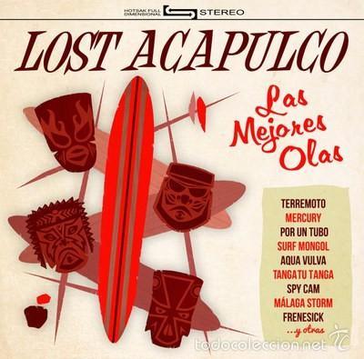 LOST ACAPULCO - LAS MEJORES OLAS (GH-20 LP, LP, 2015) SURF ROCK (Música - Discos - LP Vinilo - Rock & Roll)