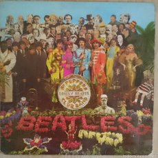 Discos de vinilo: THE BEATLES - SGT PEPPERS LONELY HEARTS CLUB BAND - LP - ODEON 1967 SPAIN CON RECORTABLE THE BEATLE. Lote 58082192