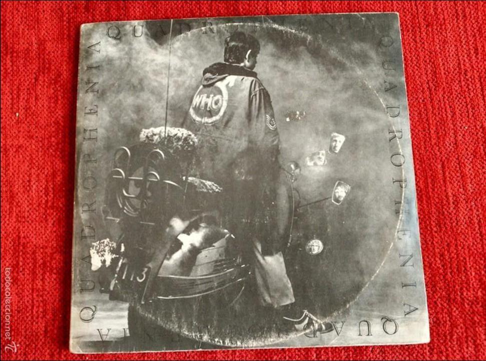 THE WHO DOBLE LP ORIGINAL /LIBRO QUADROPHENIA (Música - Discos - LP Vinilo - Pop - Rock Extranjero de los 50 y 60)