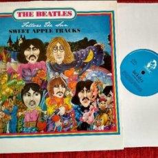 Discos de vinilo: THE BEATLES LP FOLLOW THE SUN/ SWEET APPLE TRACK NUEVO. Lote 144059229