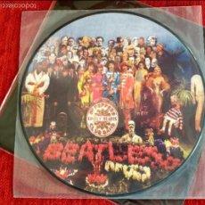 Discos de vinilo: THE BEATLES PICTURE DISC LP SG. PEPPERS..NUEVO. Lote 91766052