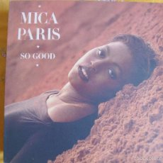 Disques de vinyle: LP - MICA PARIS - SO GOOD (SPAIN, ISLAND RECORDS 1988). Lote 58084951