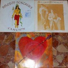 Discos de vinilo: LOTE DE 3 BOLEROS BENGALIES. Lote 58086346