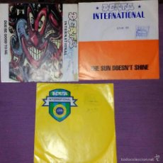 Discos de vinilo: LOTE 3 SINGLES DE BEATS. Lote 58086849