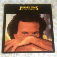 Discos de vinilo: LP JULIO IGLESIAS-MOMENTOS. Lote 58092836