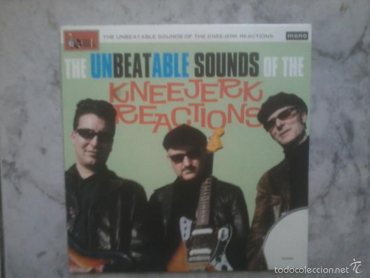 THE UNBEATABLE SOUNDS OF THE KNEEJERK REACTIONS. EP 2010. (Música - Discos de Vinilo - EPs - Rock & Roll)