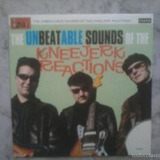 Discos de vinilo: THE UNBEATABLE SOUNDS OF THE KNEEJERK REACTIONS. EP 2010.. Lote 58093253