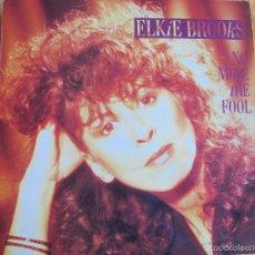 Discos de vinilo: LP - ELKIE BROOKS - NO MORE THE FOOL (SPAIN, MERCURY RECORDS 1987). Lote 58097242