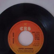 Discos de vinilo: MIGUEL BOSÉ - SUPER SUPERMAN - VOTA JUAN 26 - AÑO 1979 - CBS. Lote 58101853