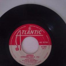 Discos de vinilo: SUPERMAX - LOVEMACHINE PAR I AND II - AÑO 1977 - ATLANTIC. Lote 58101902