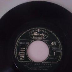 Discos de vinilo: APHRODITE´S CHILD - RAIN AND TEARS - DON´T TRY TO CATH A RIVER - MERCURY RECORDS -REFM1E4BOES47DISIN. Lote 58102019