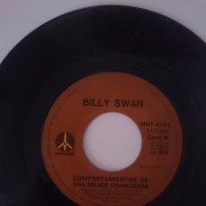 Discos de vinilo: BILLY SWAN - I CAN HELP-PUEDO AYUDAR -- WAYS OF A WOMAN IN LOVE-COMPORTAMIENTOS DE UNA MUJER ENAMORA. Lote 58102082