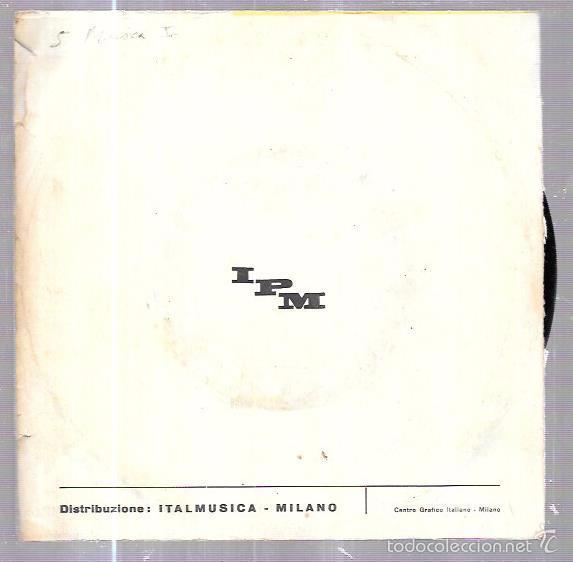 Discos de vinilo: SINGLE. TWIST-ISSIMO. CIRIBIRIBINCHA. COMPLESSO, CARILLON. - Foto 2 - 58110577