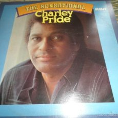 Discos de vinilo: CHARLEY PRIDE - THE SENSATIONAL LP - EDICION INGLESA - RCA VICTOR 1977 - STEREO -. Lote 58112039