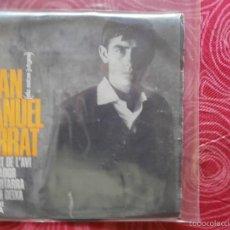 Discos de vinilo: JOAN MANUEL SERRAT - CANTA LES SEVES CANÇONS (I) - LA MORT DE L'AVI (+3) - CATALÁ - EDIGSA 1965. Lote 58116458