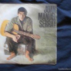 Discos de vinilo: JOAN MANUEL SERRAT - CANTA LES SEVES CANÇONS (III) - CANÇÓ DE MATINADA (+3) - CATALÁ - EDIGSA 1966. Lote 58116588