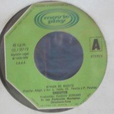 Discos de vinilo: CHICOTEN - ALBADA DE BECEITE / PALOTEADO DE BOLTAÑA - SIN CARÁTULA - 1979. Lote 58118169