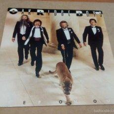 Discos de vinilo: THE OAK RIDGE BOYS - STEP ON OUT (LP 1985, MCA-5555, 252 156-1). Lote 58118406